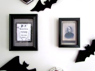 Halloween Gallery Wall