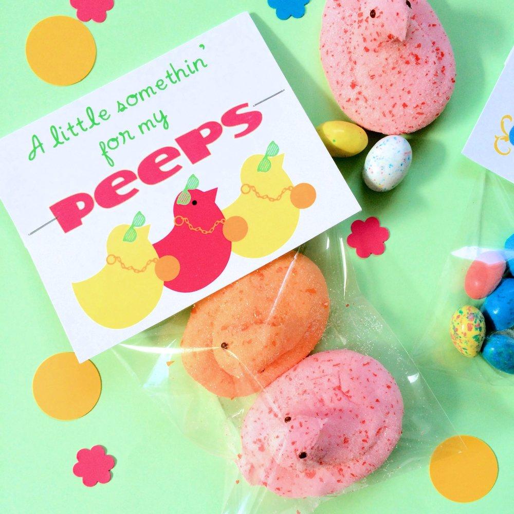Peeps Easter Printable