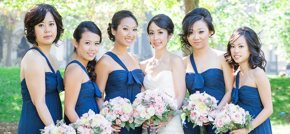 Pearl Bridal House - Real Bridesmaids - Amsale French Blue.jpg