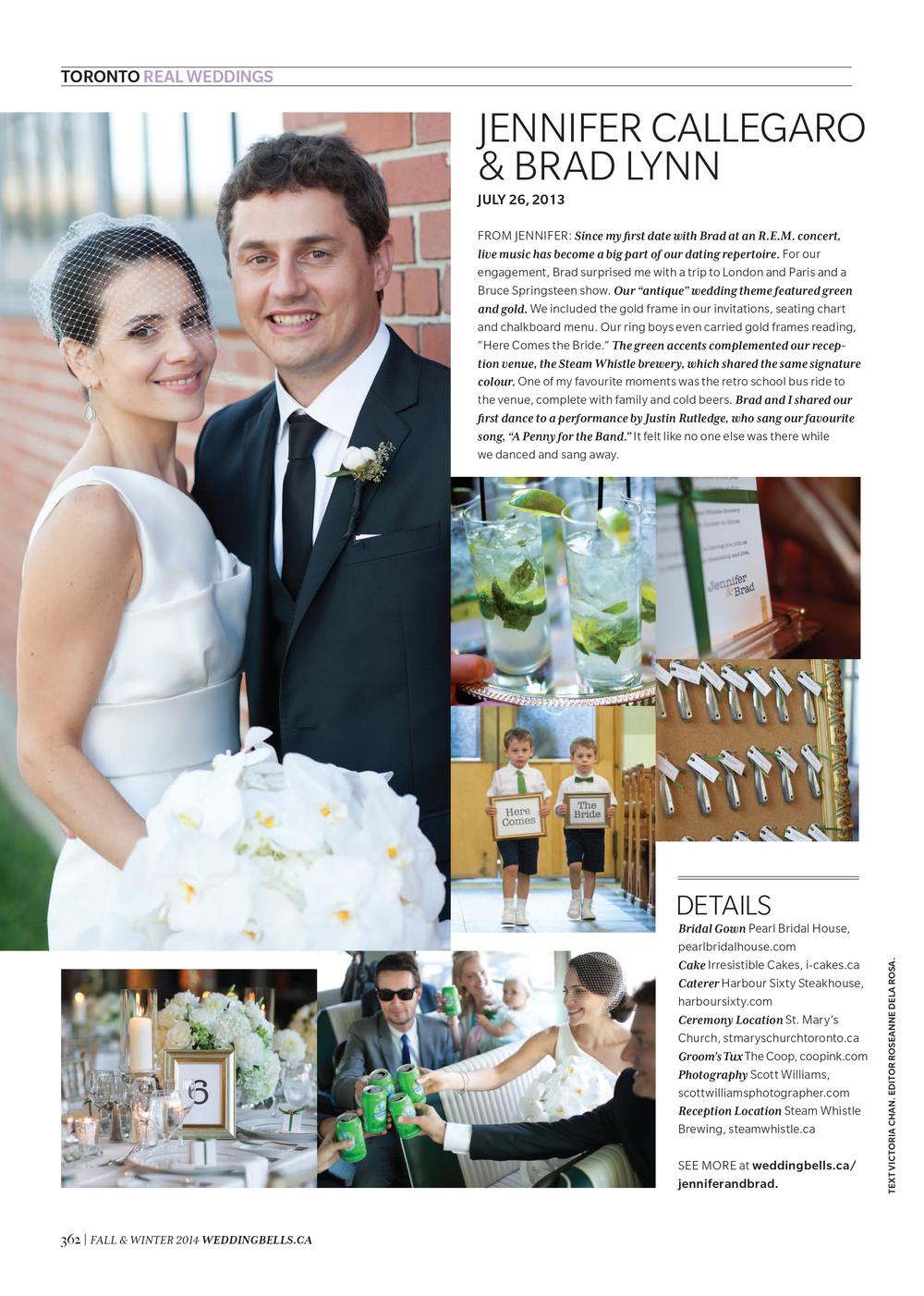 Pearl Bridal House in Weddingbells Fall Winter 2014 Editorial.jpg