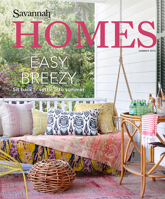 Savannah Magazine Homes Issue Lily Brown