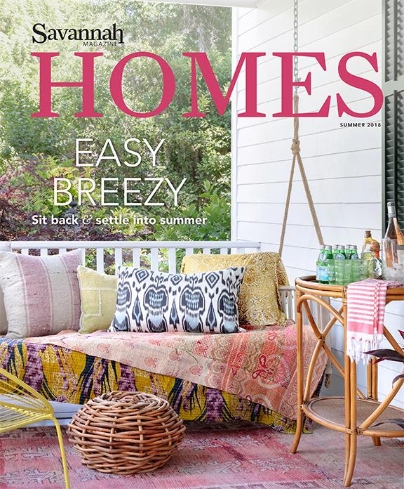 Savannah Magazine Homes Issue Lily Brown