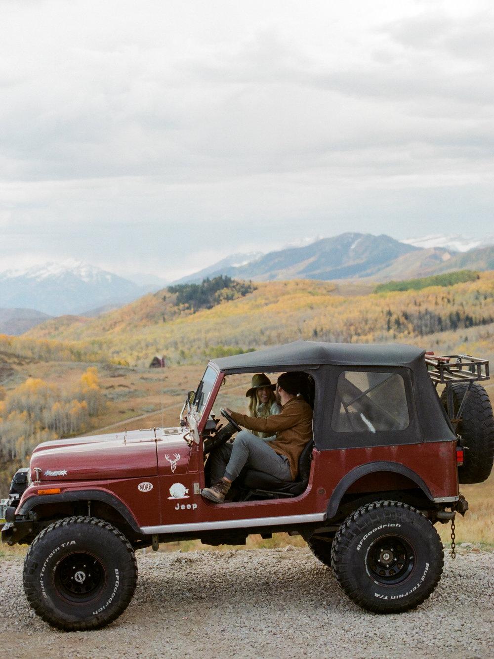Christine Gosch - Houston film photographer - Utah film photographer - mountain fall engagement session-2.jpg