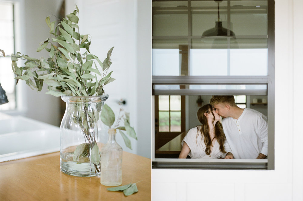 at home engagement session - Christine Gosch - featured on Magnolia Rouge - film photographer - elopement and intimate wedding photographer-24.jpg