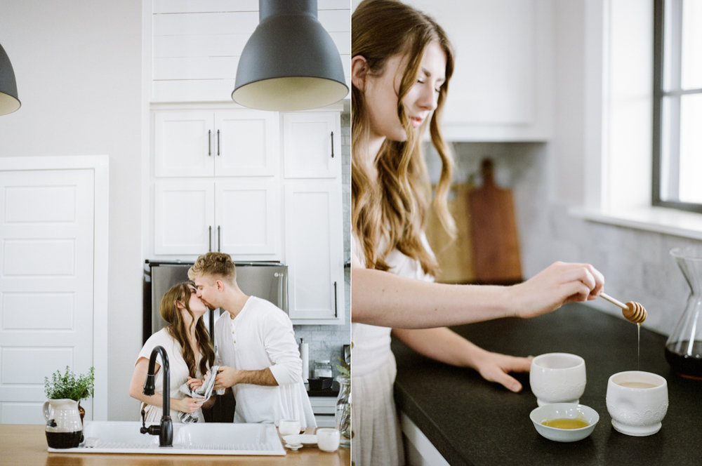 at home engagement session - Christine Gosch - featured on Magnolia Rouge - film photographer - elopement and intimate wedding photographer-26.jpg
