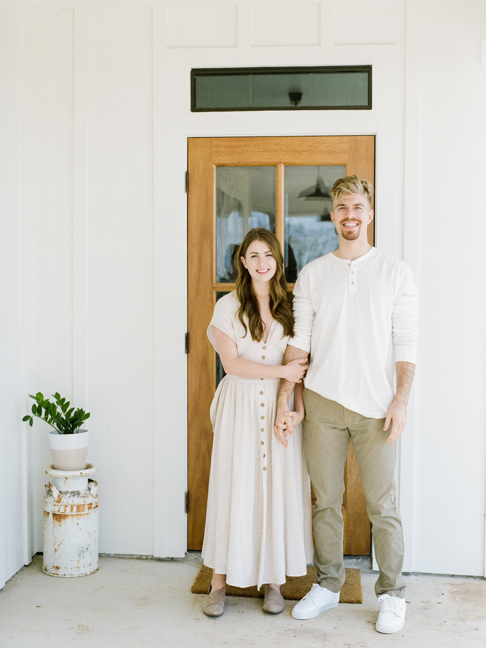 at home engagement session - Christine Gosch - featured on Magnolia Rouge - film photographer - elopement and intimate wedding photographer-22.jpg