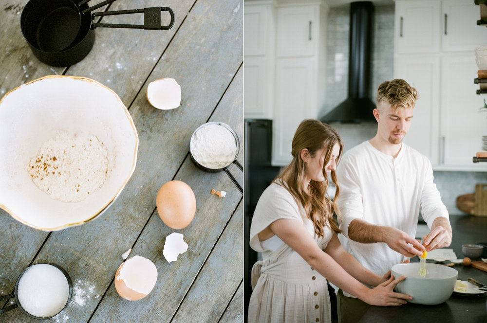 at home engagement session - Christine Gosch - featured on Magnolia Rouge - film photographer - elopement and intimate wedding photographer-29.jpg