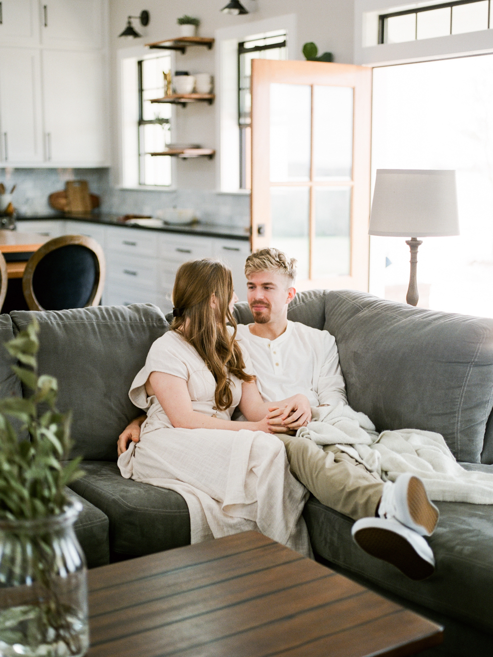 at home engagement session - Christine Gosch - featured on Magnolia Rouge - film photographer - elopement and intimate wedding photographer-36.jpg