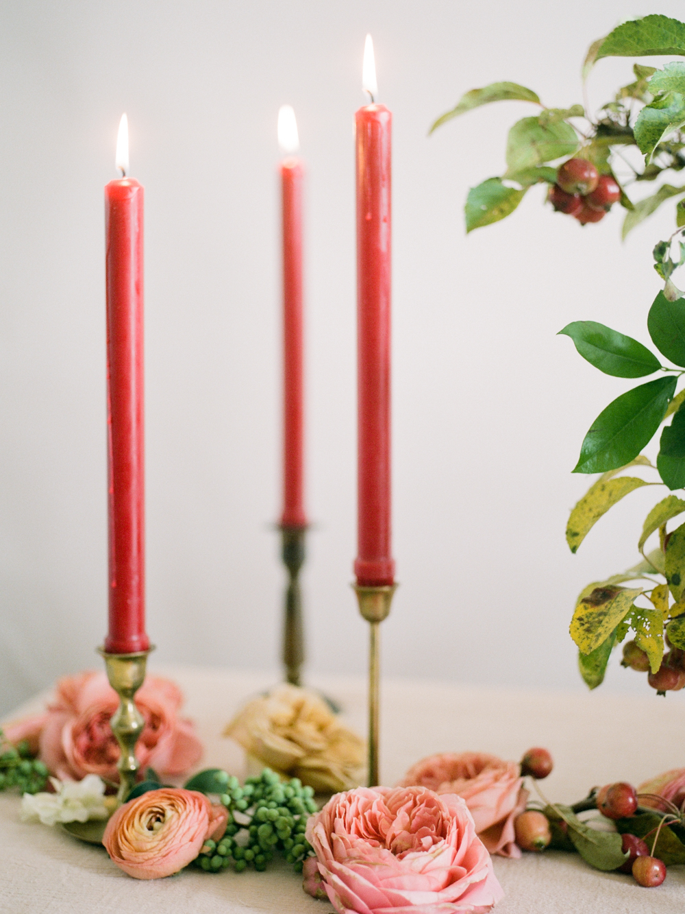 film wedding photographer - Houston wedding photographer - intimate wedding photographer - Christine Gosch - fall wedding inspiration - blush fall wedding - wedding flowers - fall wedding flowers - wedding table inspo-4- Maxit Flower Design.jpg