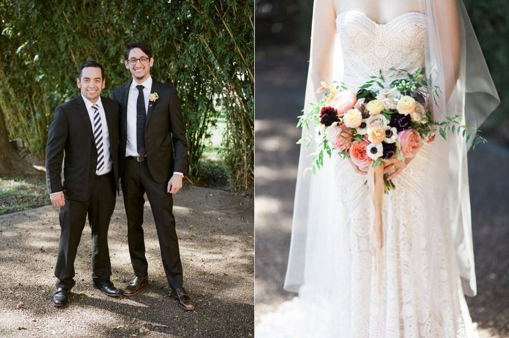 fall wedding at rothko chapel- houston wedding photographer-christine gosch - film photographer - elopement photographer- intimate wedding - lovely bride wedding gown-24.jpg