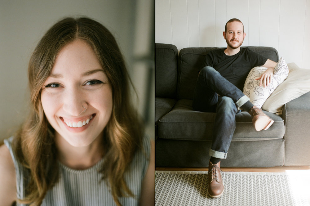 Christine Gosch- home engagement session- austin film photographer-  houston film photographer- in home session- engagment session- film wedding photographer-17.jpg