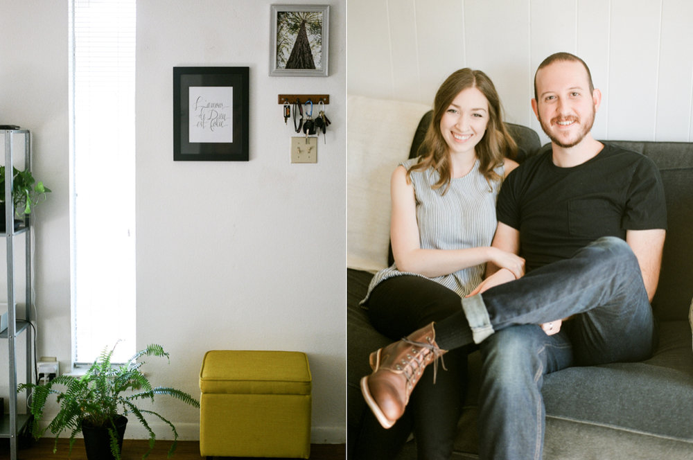 Christine Gosch- home engagement session- austin film photographer-  houston film photographer- in home session- engagment session- film wedding photographer-14.jpg