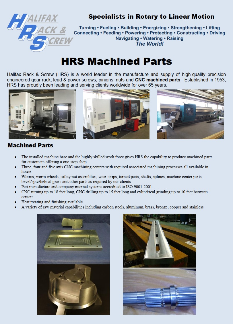HRS Machined Parts One Page Flyer FRONT PHOTO.jpg