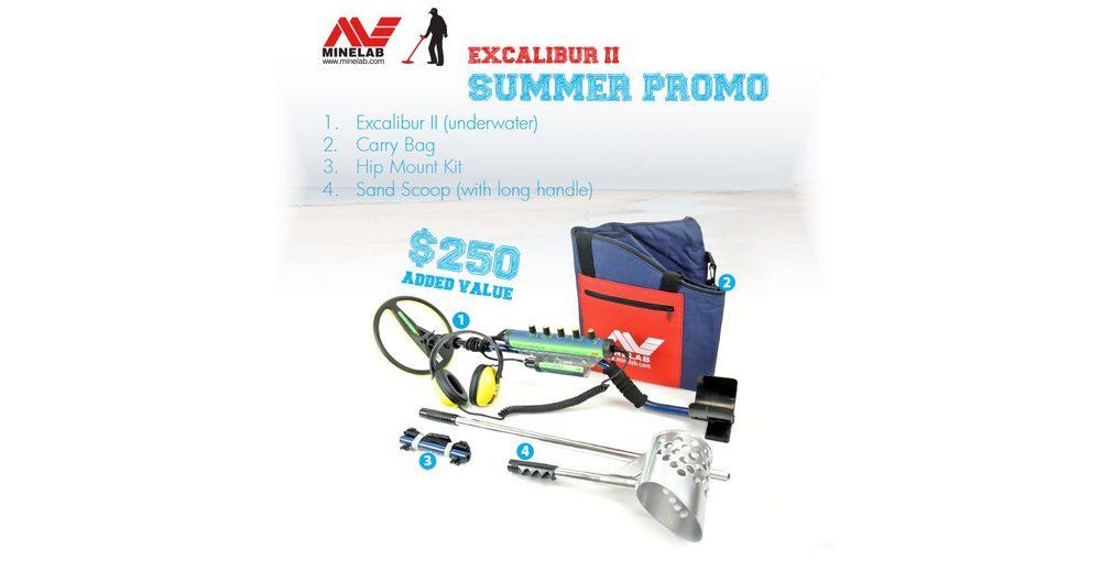 Excalibur II - Minelab Summer 2014 Promo