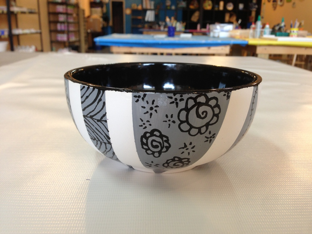 Doodles and Tape Bowl