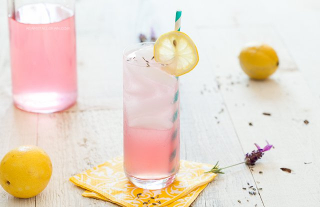 Lavender lemonade via Against All Grain
