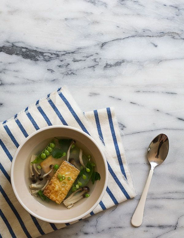 Miso Soup via A Cozy Kitchen