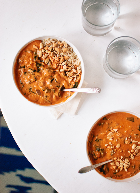 West African Peanut Soup via Cookie and Kate