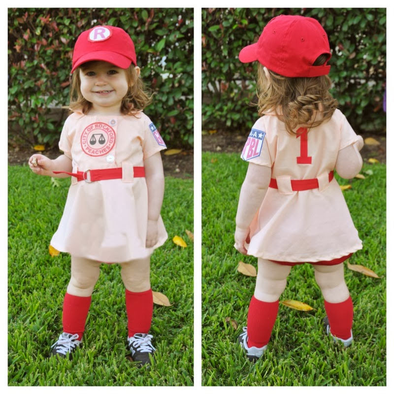 """A League of Their Own"" inspired costume"
