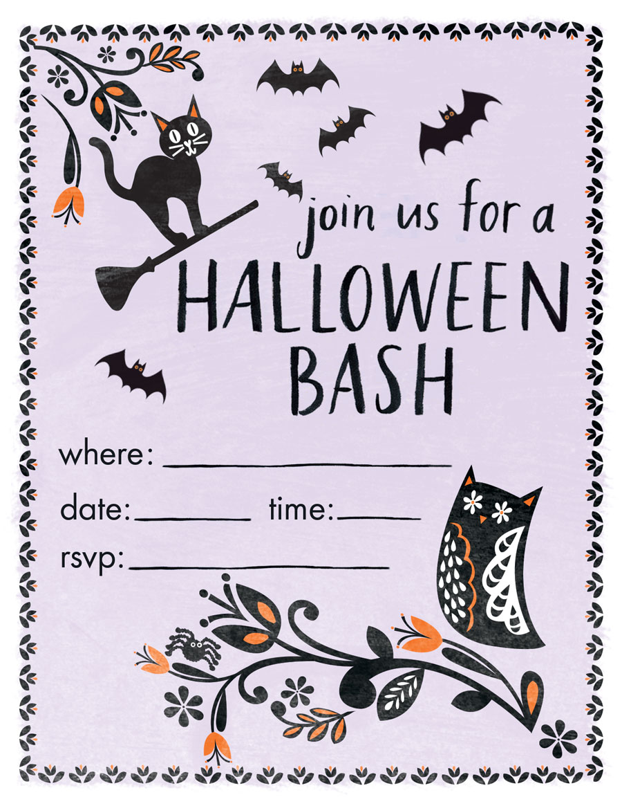 hanna-andersson-halloween-party-invites