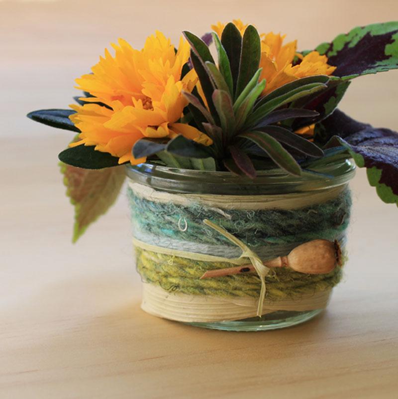 Hanna Andersson DIY Yarn Bomb Jars Image 7