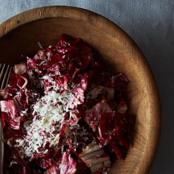 Toro Bravo's Radicchio Salad with Manchego Vinaigrette | Food 52