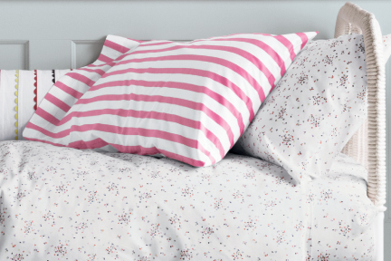Girls Patterned Soft Cotton Sheets