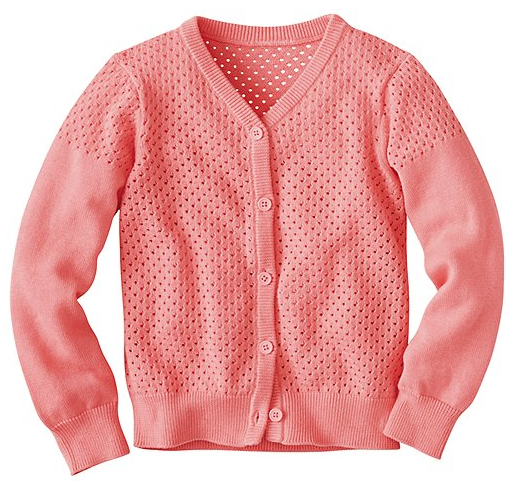 Here and There Pink Cardigan
