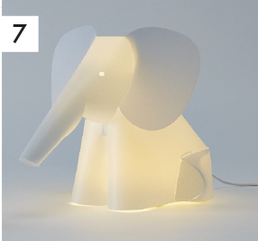 Elephant Table Lamp $99