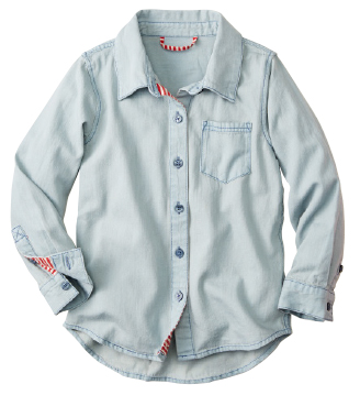 Girls Chambray Top