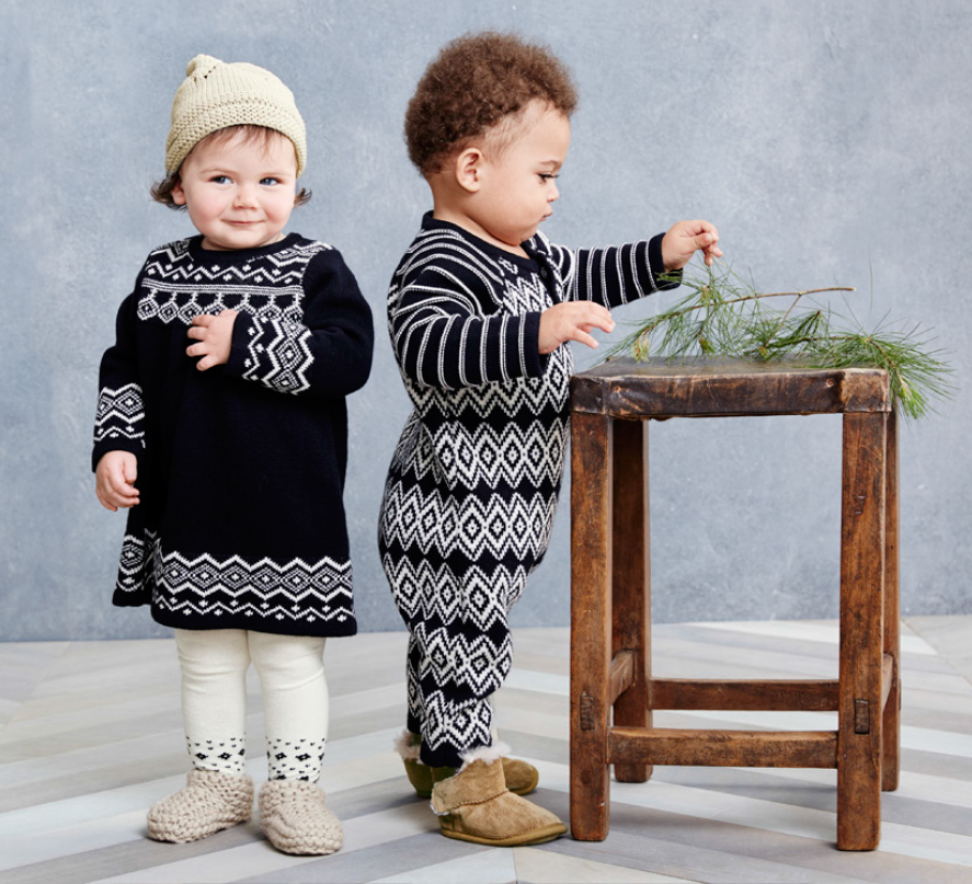 Black & White Holiday Looks For Baby - Hanna Andersson