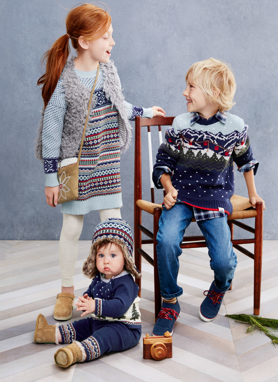 Ski Norrland Sweater Collection - Hanna Andersson