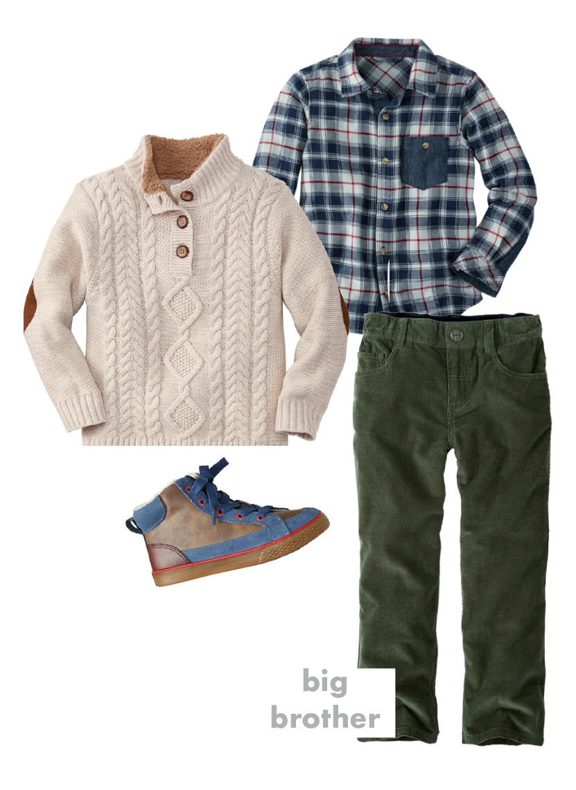 Boys Holiday Outfit - Hanna Andersson