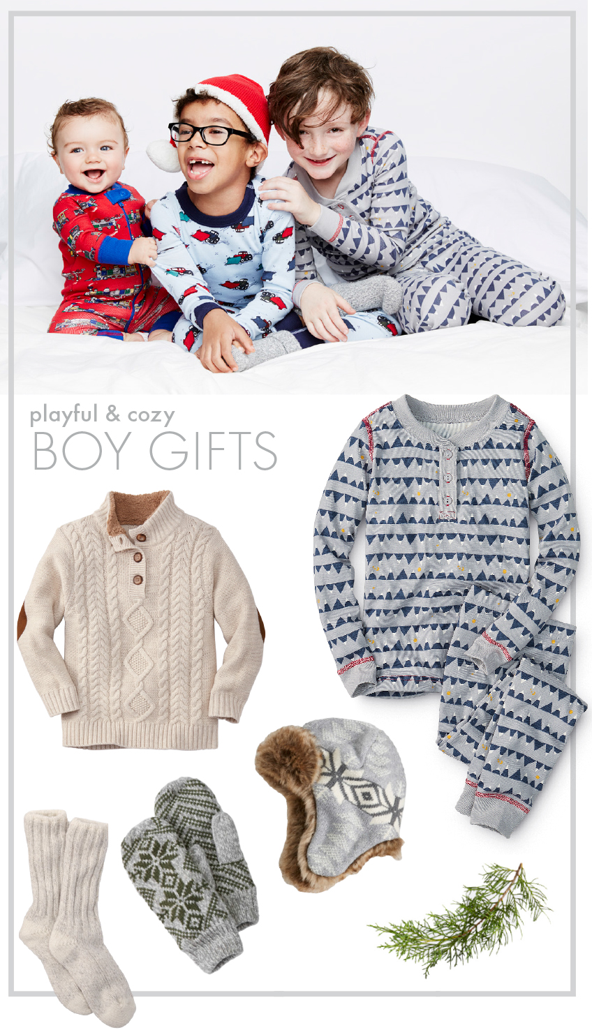 Boy Soft Sleep Gift Guide - Hanna Andersson