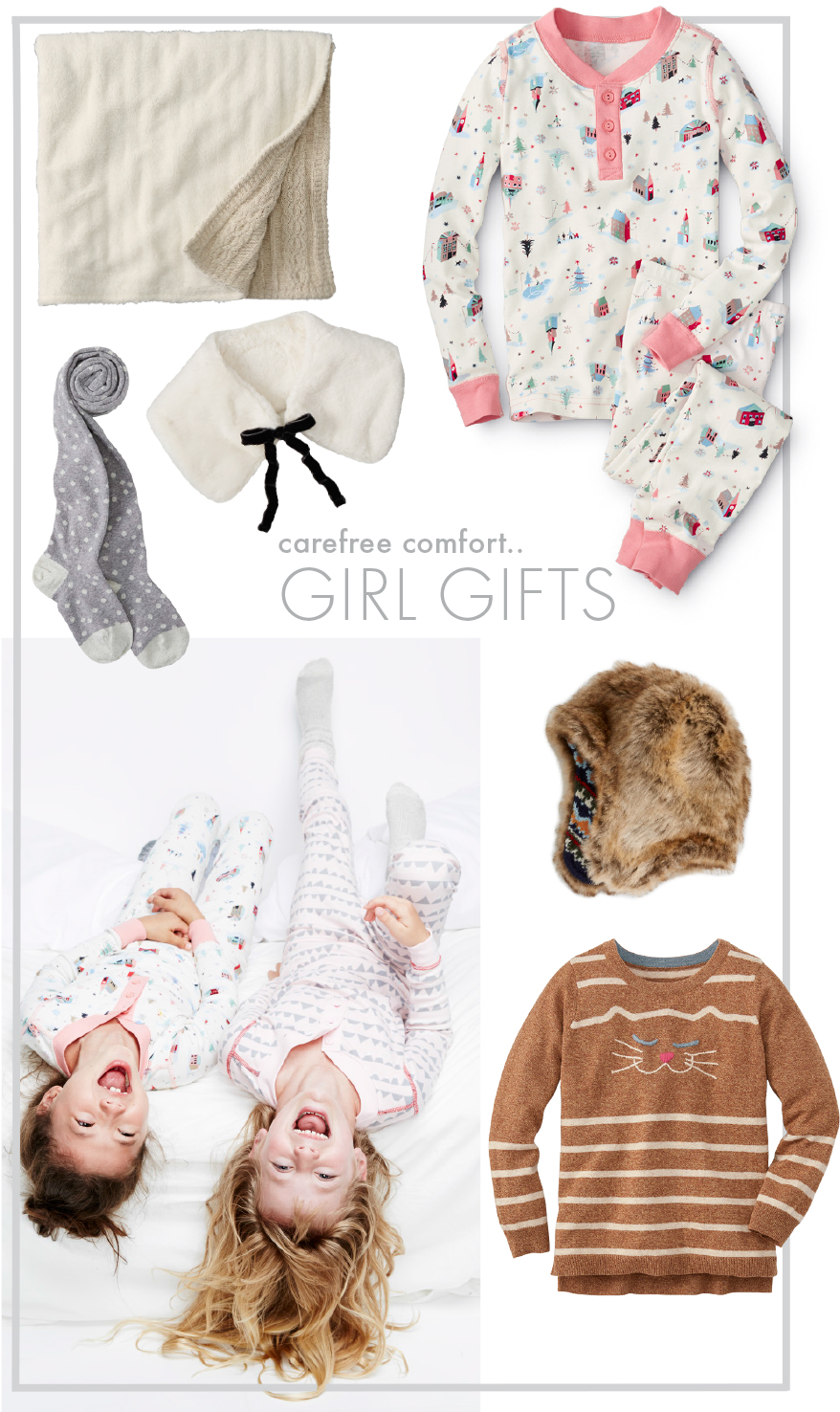 Girl Soft Sleep Gift Guide - Hanna Andersson