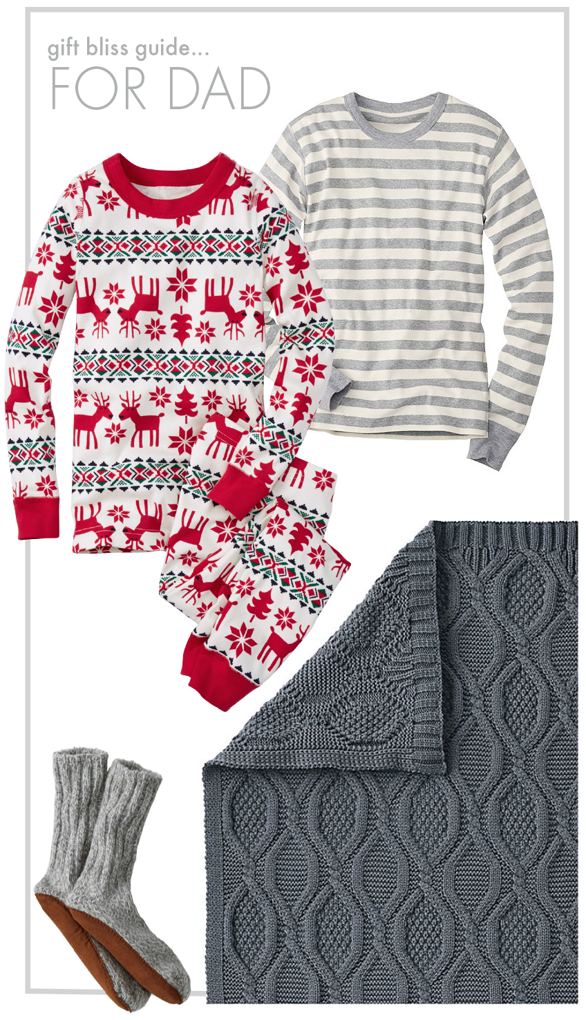 Cozy Comfy Sleep Gift Guide For Dad - Hanna Andersson