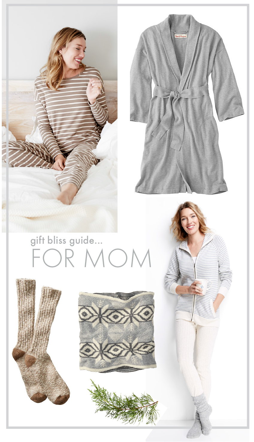 Mom Cozy Relax Gift Guide - Hanna andersson