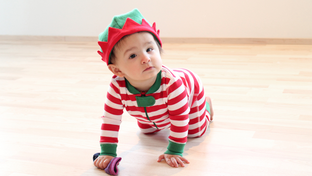 Crawling little elf