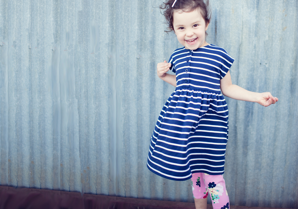 Hanna Andersson Playdress in Organic Cotton