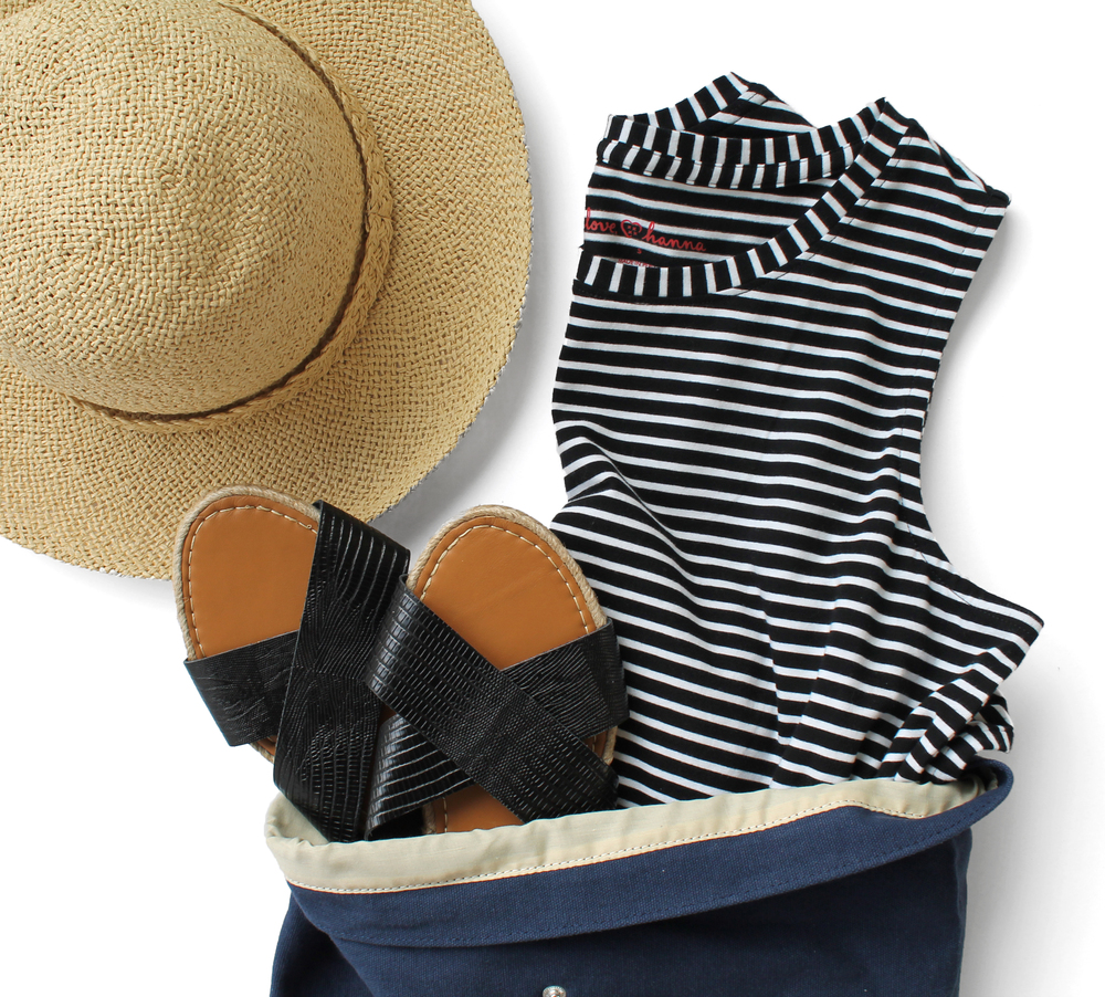 What to pack on vacation - for moms
