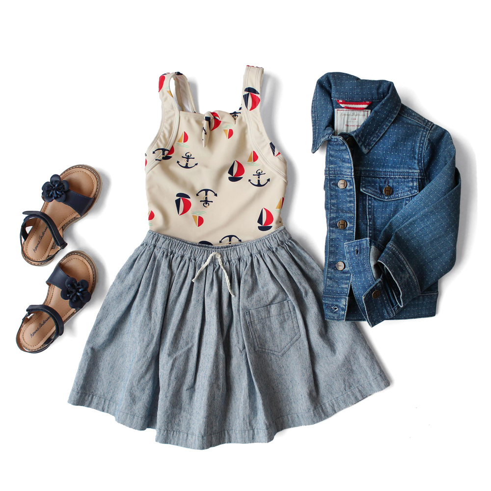 Girls Summer Outfit