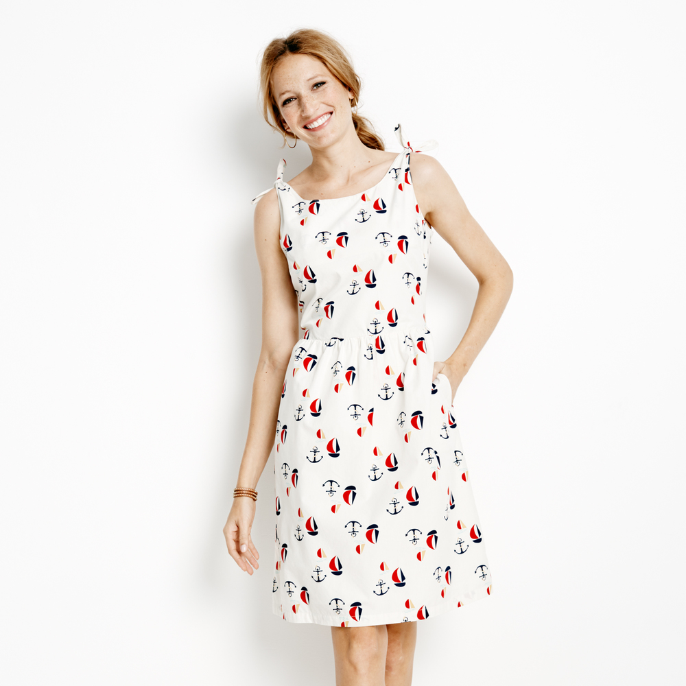 Sailboat Print Dress - Family Matching - Hanna Andersson