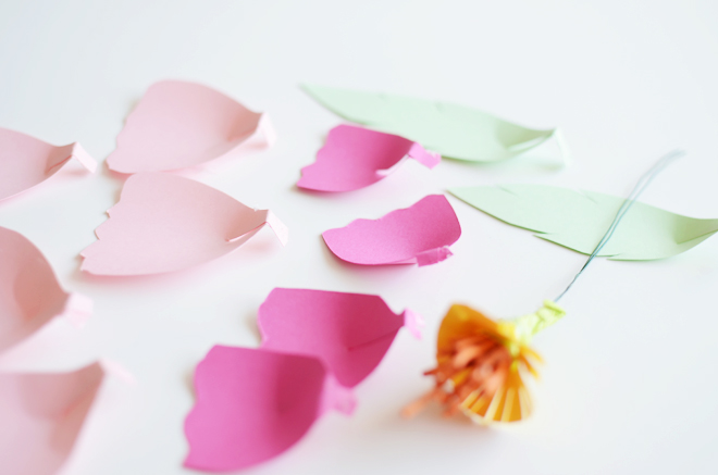 DIY Easter Paper Flowers