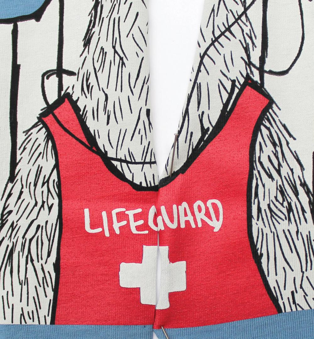 lifeguard llamma tee - hanna andersson
