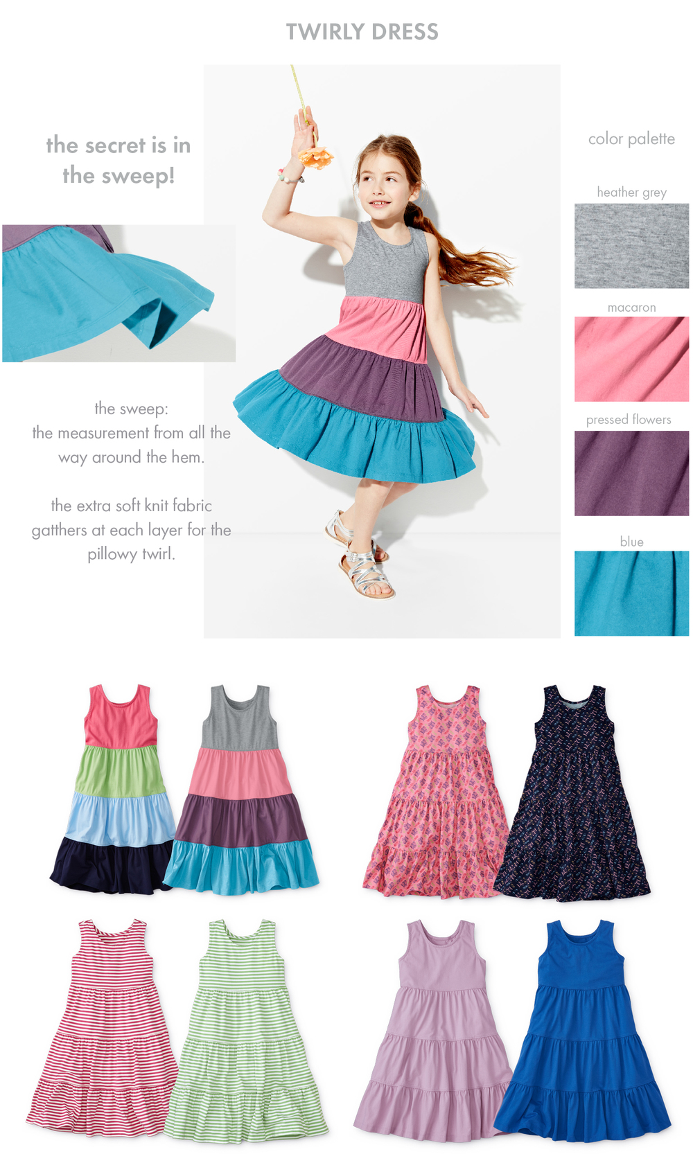Twirly Girls Dresses - Hanna Andersson