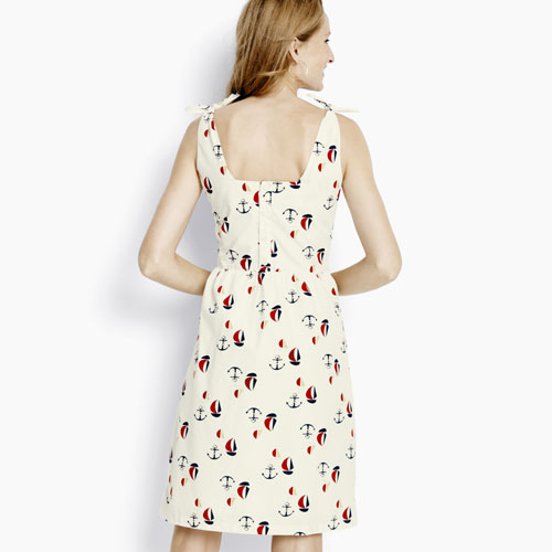 Sailboat Print Dress - Hanna Andersson