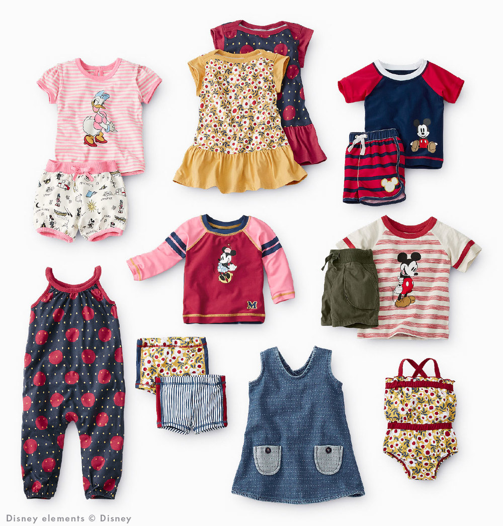 Disney Mickey Mouse Toddler Collection by Hanna Andersson
