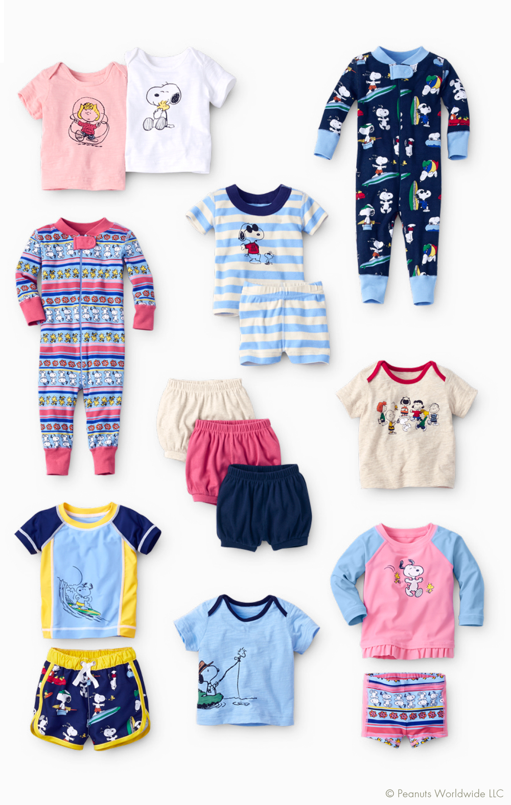 Peanuts Collection for baby from Hanna Andersson