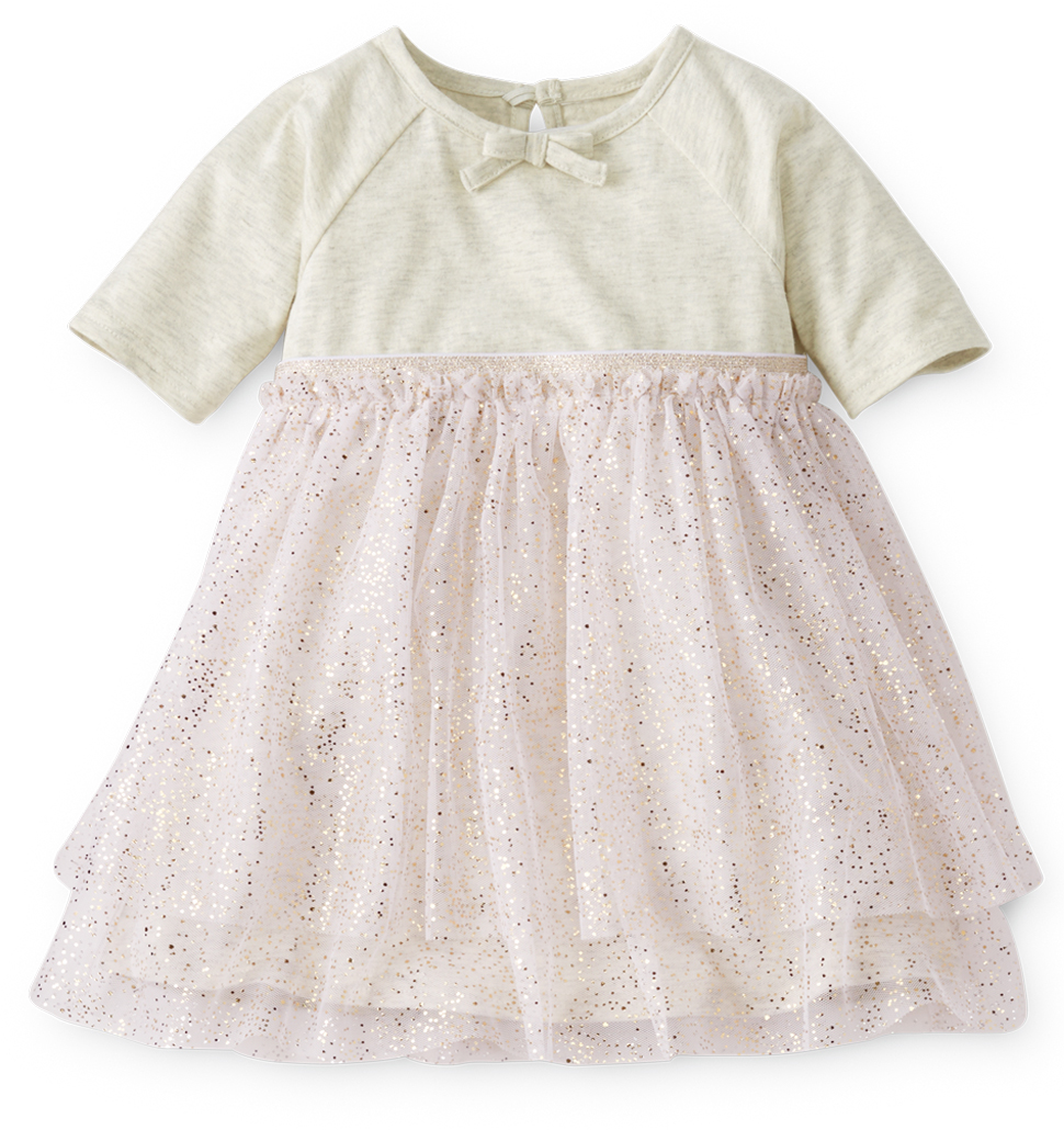 Girls Swish Tulle Dress - Hanna Andersson