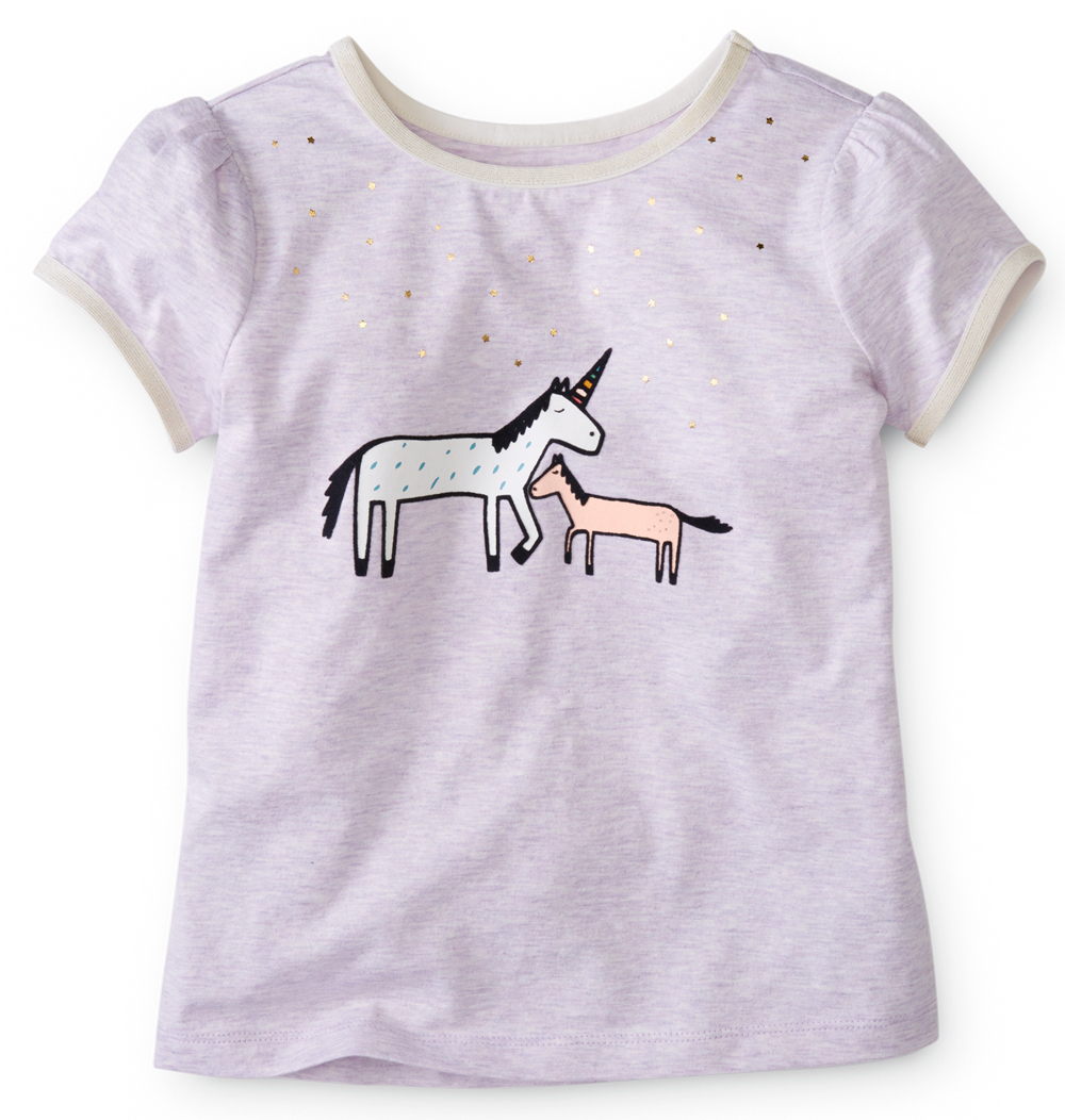 Girls Unicorn Graphic Tee - Hanna Andersson